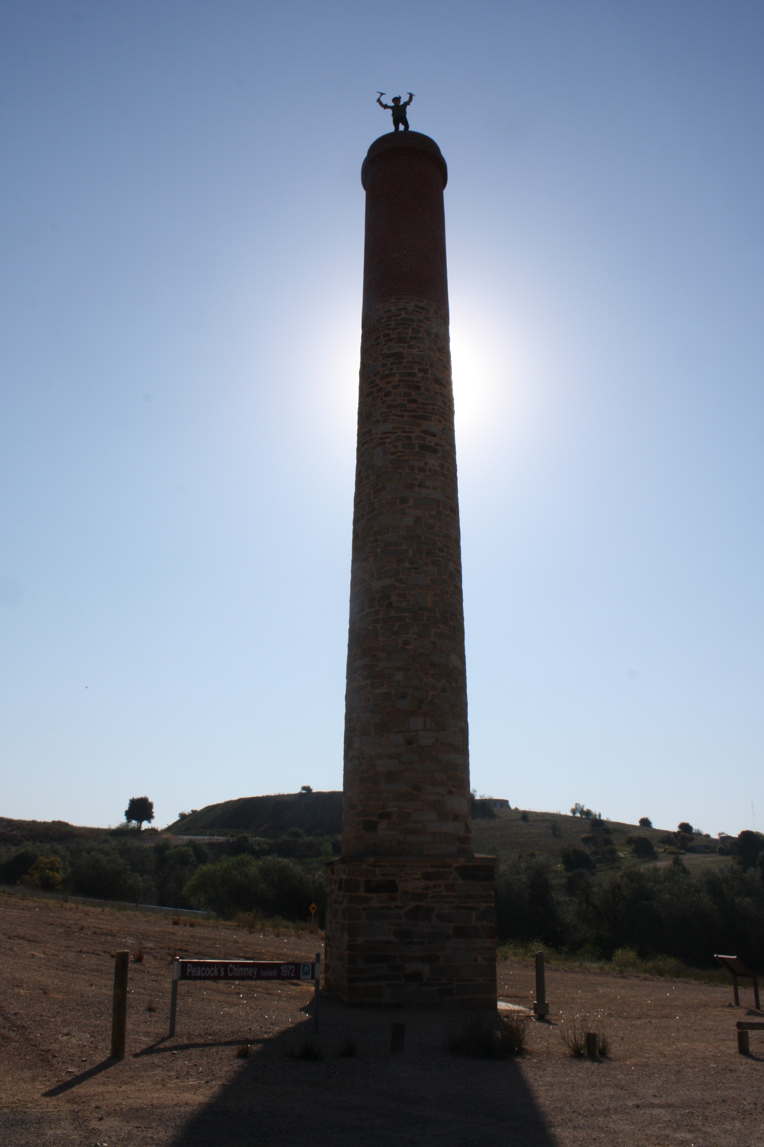 Chimney at Burra