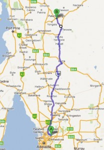Our planed route for Day 1