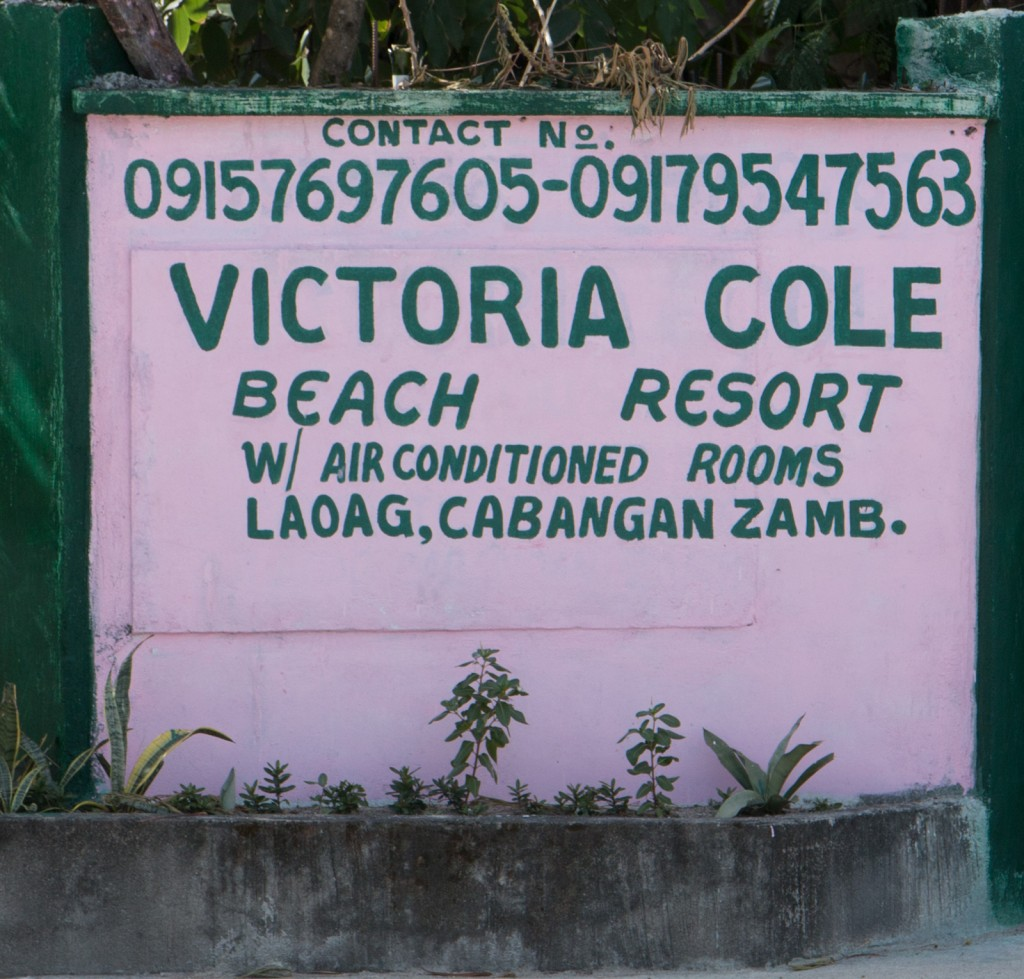 Victoria Cole Beach Resort, Laoag, Cabangan, Zambales, Philippin