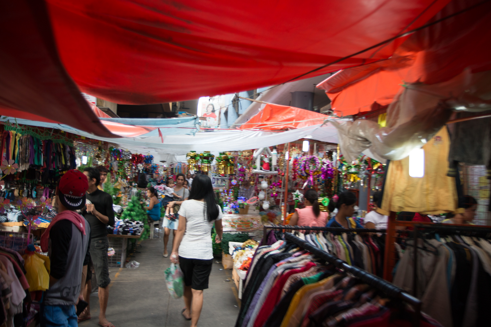 Manila Philippines street market