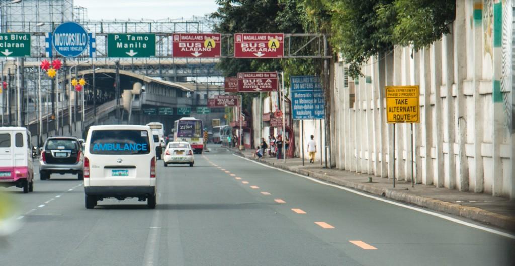 Street approaching Makati
