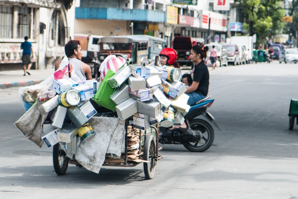 Manila trader loaded trike
